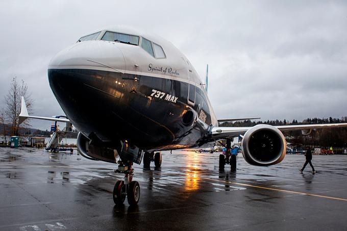 Boeing 737 MAX, dòng máy bay liên quan đến hai vụ tai nạn thảm khốc ở Indonesia và Ethiopia. Ảnh: Bloomberg.