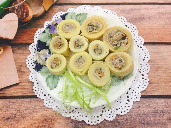Món măng quen thuộc khi biến tấu đôi chút trong phần nguyên liệu lại trở thành một món ngon có hương vị mới lạ.