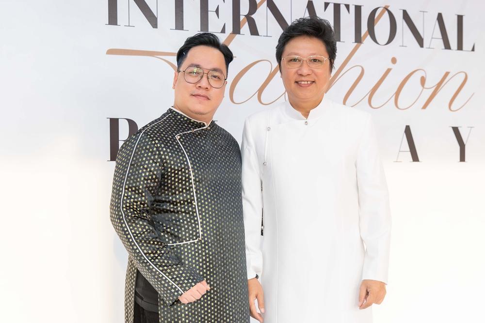 MC Tùng Leo hội ngộ nhà thiết kế Sĩ Hoàng.
