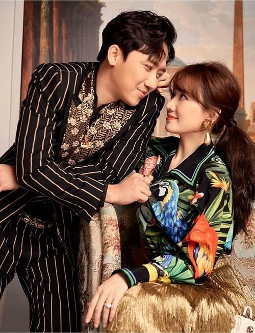 Trấn Thành - Hari Won ngày càng mặn nồng sau 5 năm bên nhau.