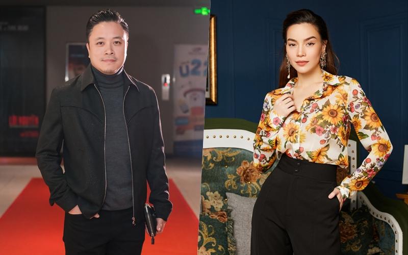 Hai trong số các thành viên hội đồng chuyên môn: đạo diễn Victor Vũ, ca sĩ Hồ Ngọc Hà.