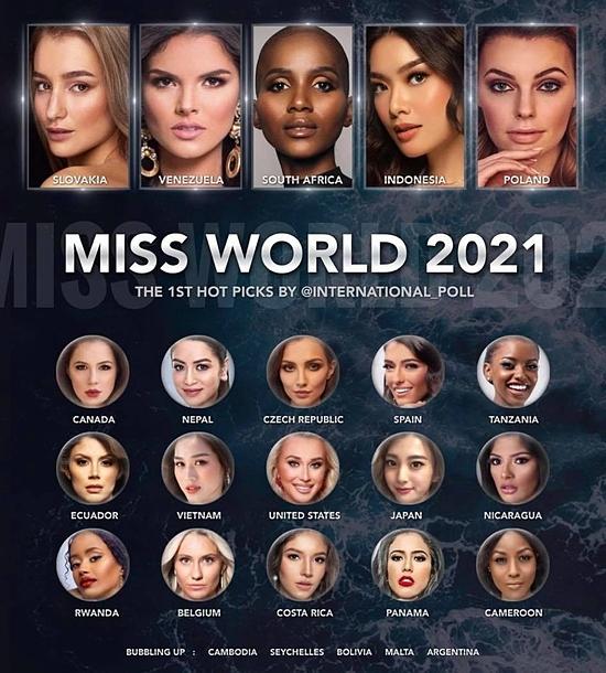 Đỗ Thị Hà được dự đoán vào top 10 Hoa hậu Thế giới 2021 - 6