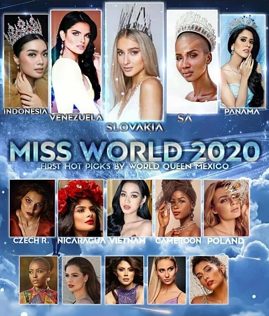 Đỗ Thị Hà được dự đoán vào top 10 Hoa hậu Thế giới 2021 - 8