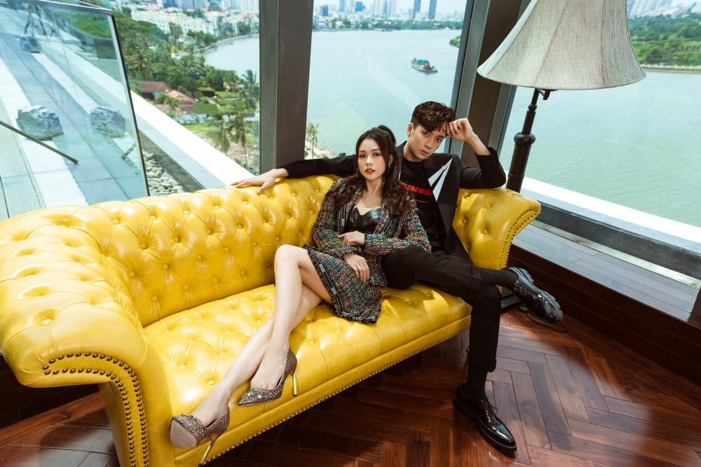 Với bộ ảnh mới này, Sam và Ngô Kiến Huy đơn giản chỉ là muốn lưu giữ lại những khoảnh khắc bên nhau.