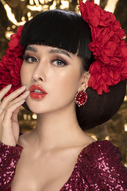 Bộ ảnh được thực hiện bởi makeup: Hùng Việt, làm tóc: Liên Hồ, photo: Lê Minh Thông, áo cưới: Linh Đang Cần Thơ.