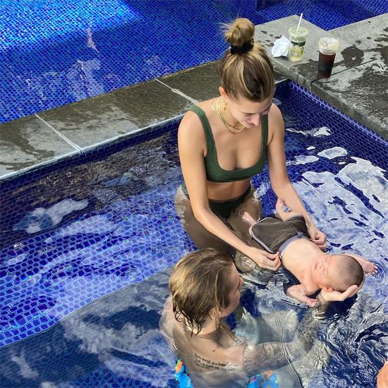 Trong chuyến đi tới Hawaii, vợ chồng Justin thăm con trai mới chào đời của cậu bạn thân Joe Termini. Justin vốn có tới 4 người em nên anh rất thạo trong việc chăm sóc em bé.
