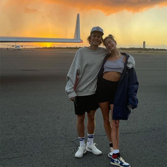 Vợ chồng Bieber lên phi cơ riêng tới Hawaii thăm gia đình người bạn thân Joe Termini kết hợp nghỉ dưỡng.