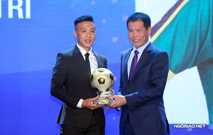 Cầu thủ Nguyễn Minh Trí đoạt Quả bóng vàng Futsal. Đây là lần đầu anh đoạt danh hiệu này, sau hai lần đoạt Quả bóng bạc năm 2016 và 2019.