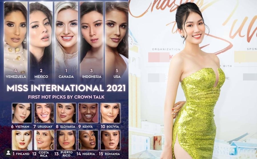 Đỗ Thị Hà được dự đoán vào top 10 Hoa hậu Thế giới 2021 - 10