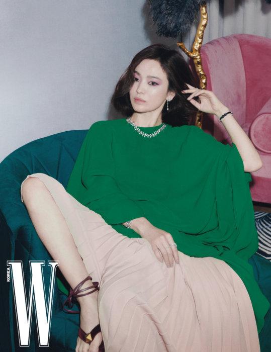Song Hye Kyo cho rằng quan niệm về tình yêu của cô không thay đổi.