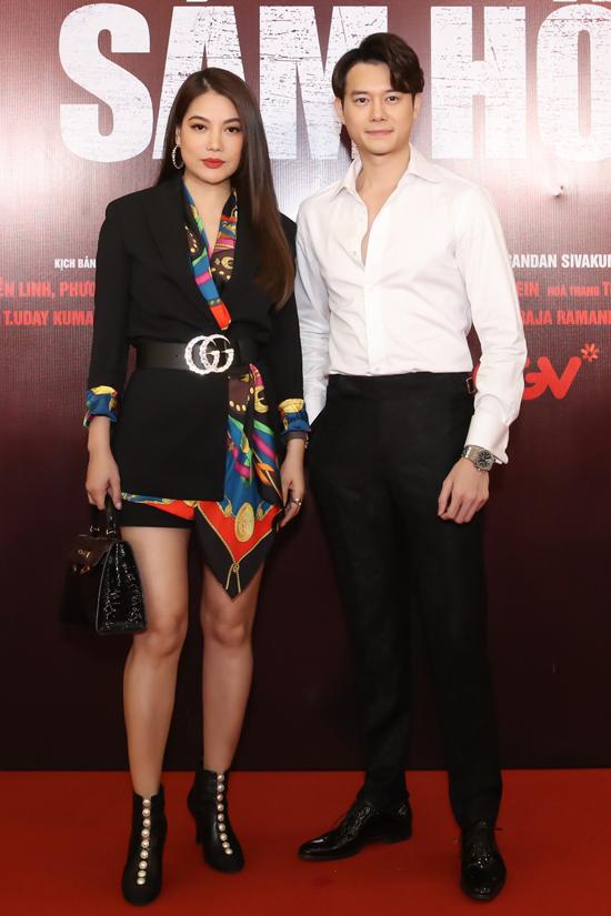 Trương Ngọc Ánh diện đồ hiệu đi cùng bạn trai tin đồn - diễn viên Anh Dũng.