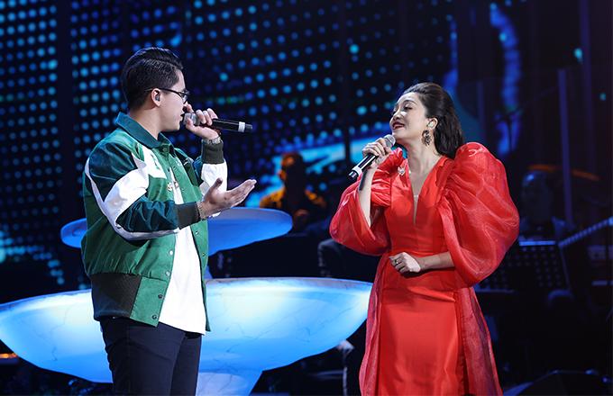 GDucky và Phạm Thu Hà lần đầu song ca trên sân khấu.