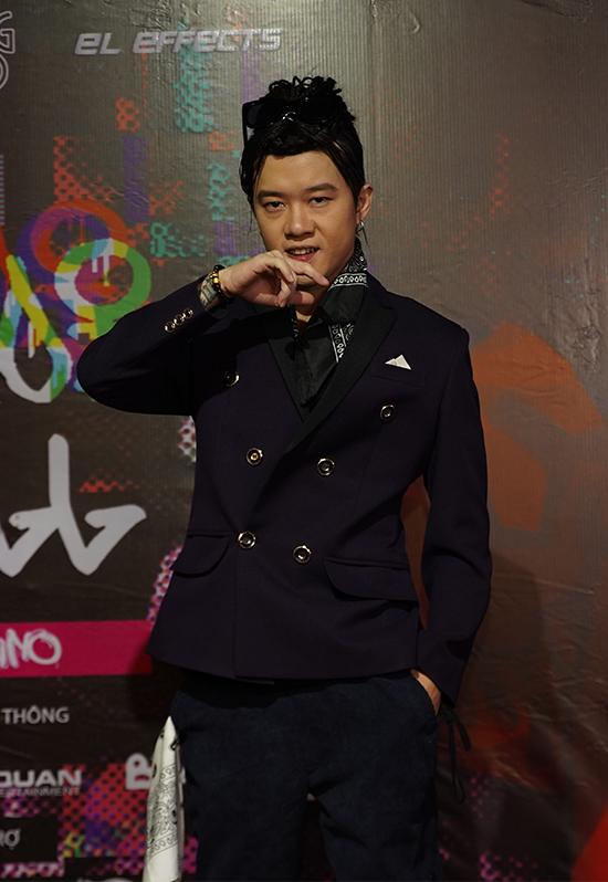 Young Uno tại buổi họp báo ra mắt Hà Nội Chill ngày 12/1.