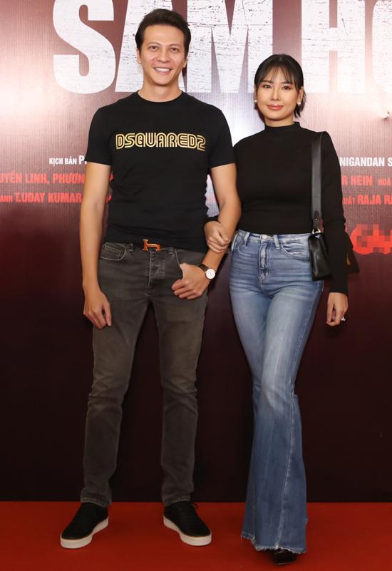 Vợ chồng diễn viên Dương Hoàng Anh.