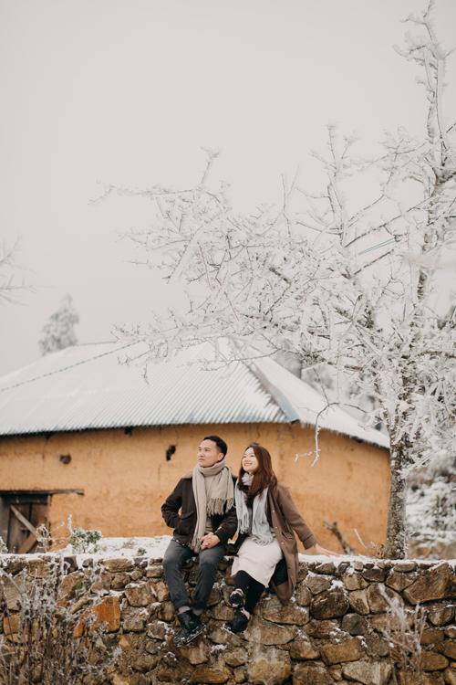 Cặp Linh - Thương đã yêu nhau được khoảng 2 năm trước khi về chung một nhà và dự định làm đám cưới vào tháng 3 năm nay.