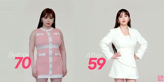 Dáng vẻ mới của thành viên 2NE1.