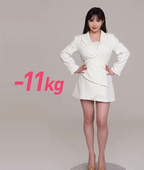 Sắc vóc mới khiến Park Bom tự tin hơn.