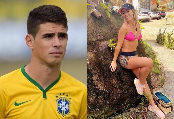 Ngôi sao người Brazil đang thi đấu ở Trung Quốc - Oscar Emboaba - luôn tự hào có cô em gái xinh đẹp giỏi giang Gabrieli. Người đẹp vừa là một phóng viên, người mẫu, vừa viết blog làm đẹp và điều hành một cửa hàng ở quê nhà.