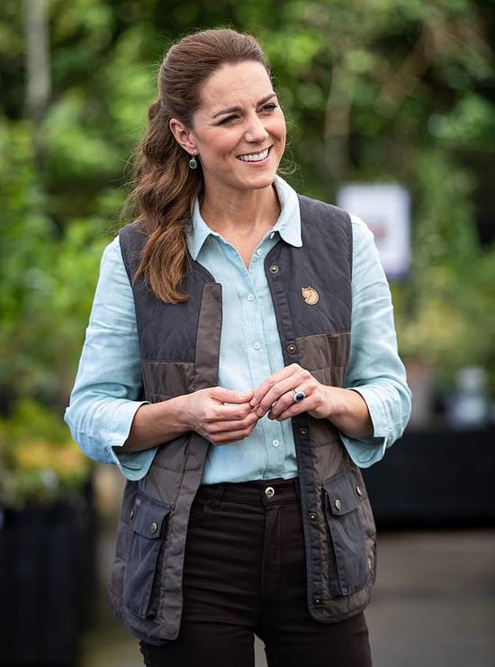 Nữ công tước xứ Cambridge - Kate Middleton. Ảnh: PA.