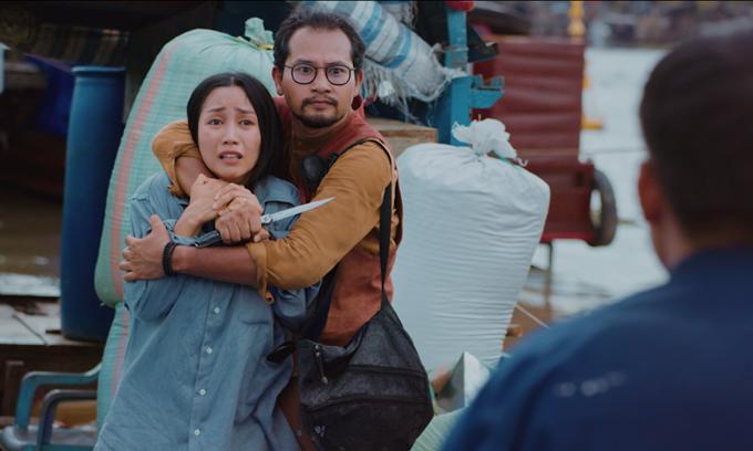 Huỳnh Đông uy hiếp Ốc Thanh Vân trong trailer Lật mặt: 48h.