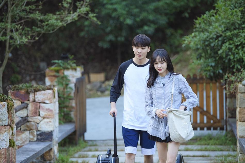 Trịnh Sảng và bạn trai cũ Trương Hằng.