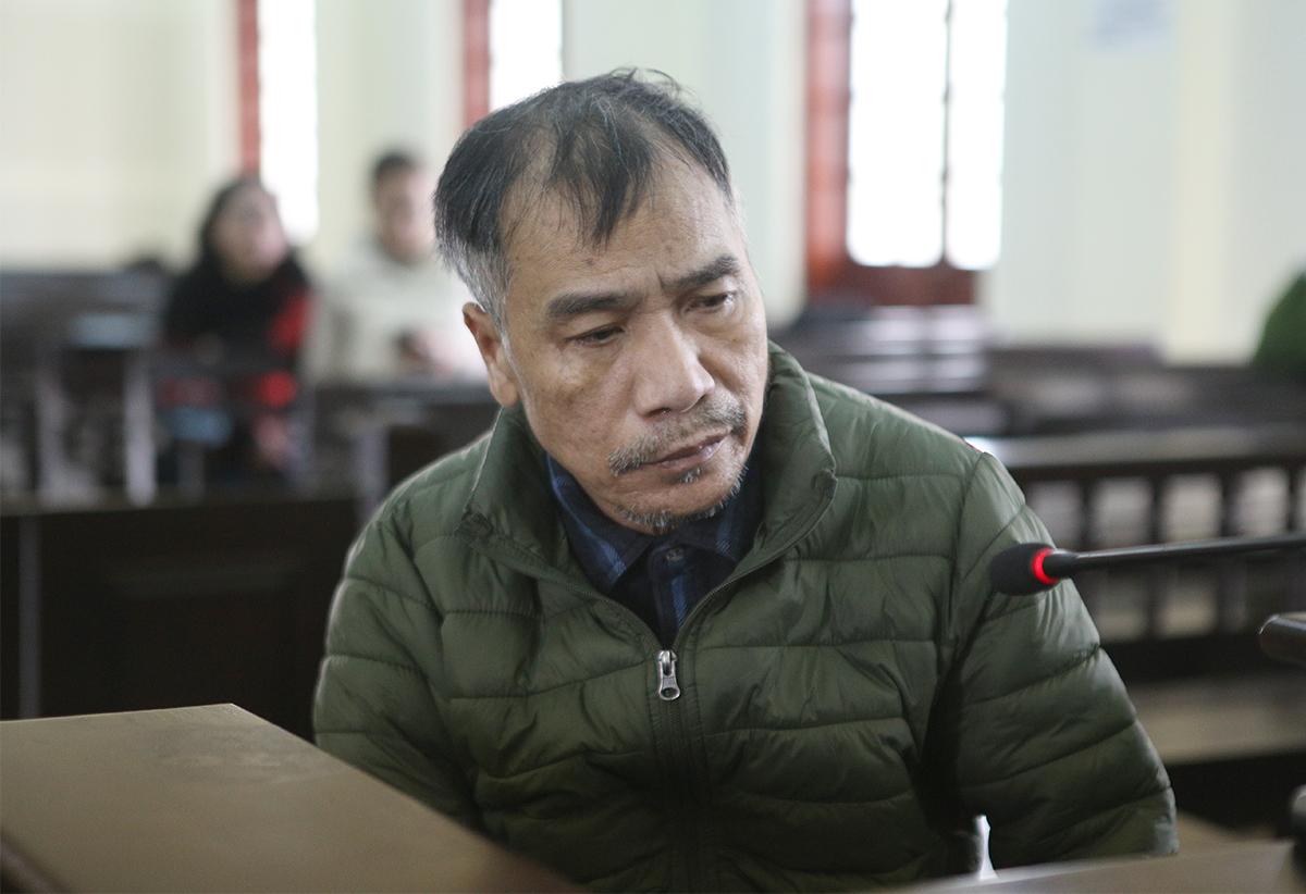 Bị cáo Sáng tại tòa. Ảnh: Phương Linh
