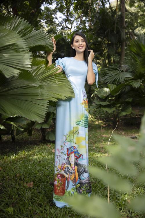Bộ ảnh được thực hiện với sự hỗ trợ của nhiếp ảnh Lê Thiện Viễn, trang điểm Hữu Nghĩa, stylist Bảo Luận.