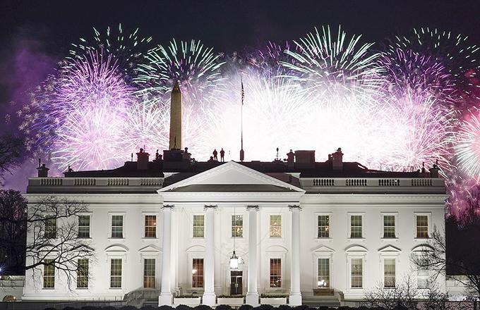 Gia đình Biden xem bắn pháo hoa mừng lễ nhậm chức - 12