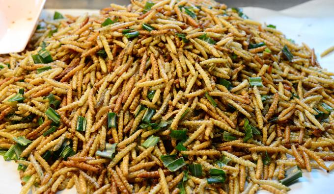Sâu bột được công nhận là món ăn ở châu Âu