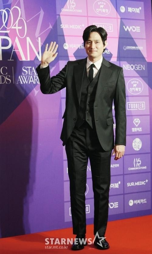 Tài tử Park Hae Joon của phim Thế giới hôn nhân.