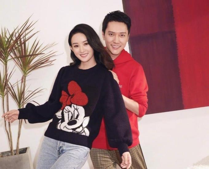 Vợ chồng Triệu Lệ Dĩnh - Phùng Thiệu Phong.