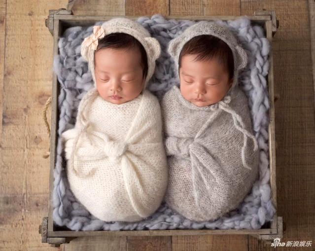 Hai con của Trương Vũ Kỳ, một trai và một gái.