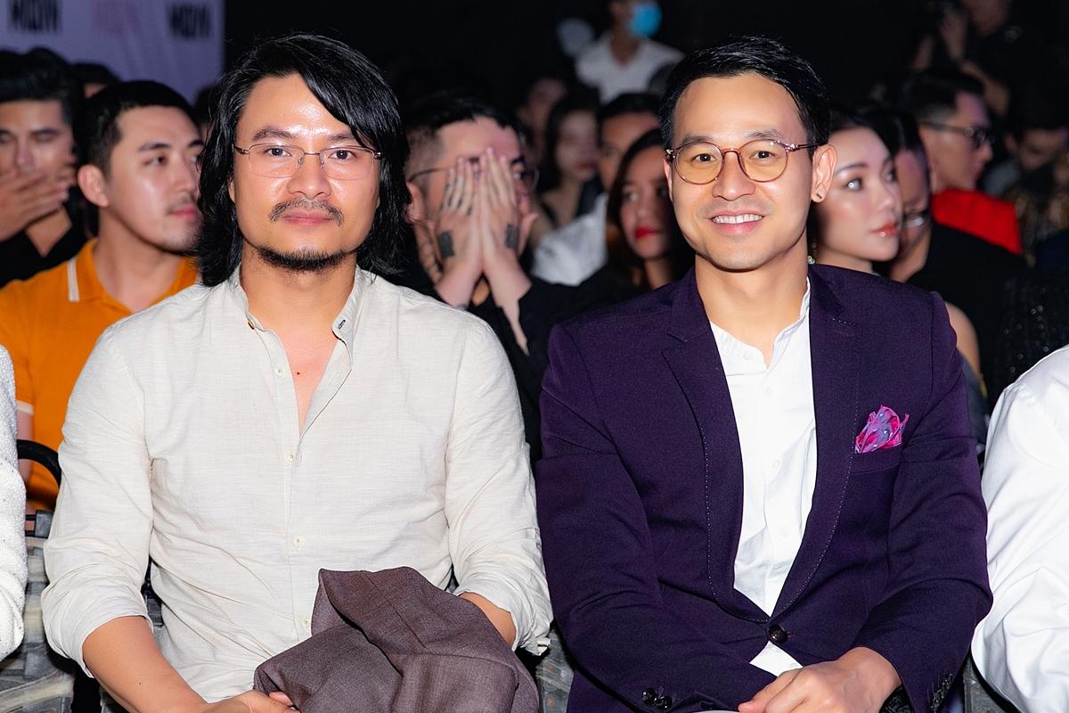 Đạo diễn Hoàng Nhật Nam và doanh nhân Sơn Đoàn.