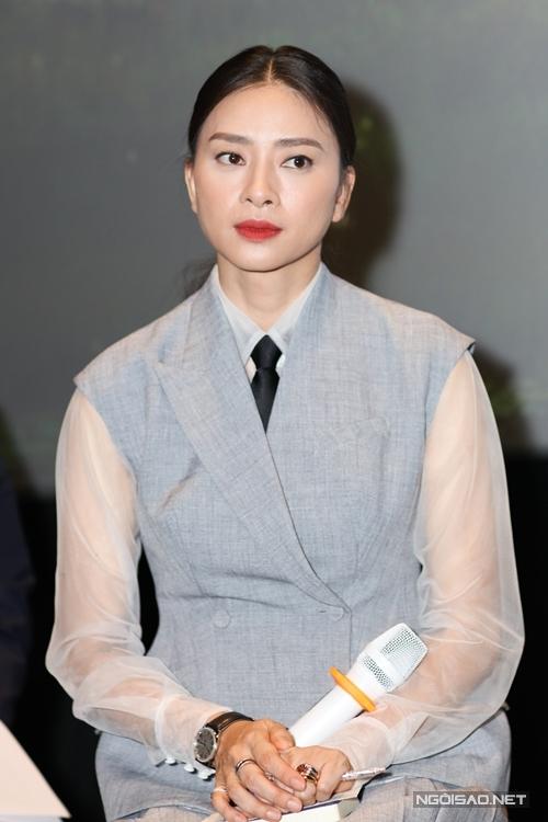 Nhà sản xuất Ngô Thanh Vân tại họp báo chiều 24/1.