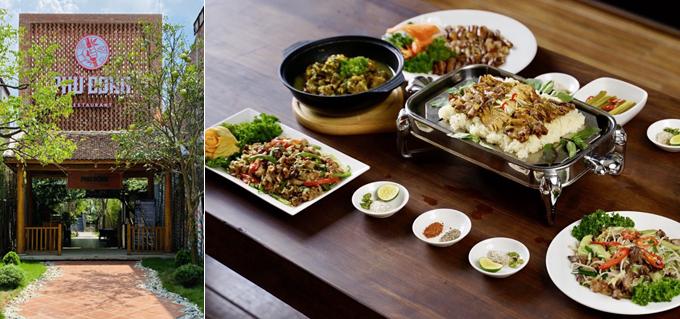 Nhà hàng Phù Đổng có các món ăn Việt hợp khẩu vị hợp khẩu vị nhiều đối tượng thực khách.