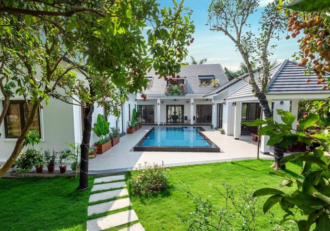 Blue Mountain Villa, một trong những địa điểm nghỉ dưỡng cuối tuần tại khu vực Sóc Sơn, Hà Nội.