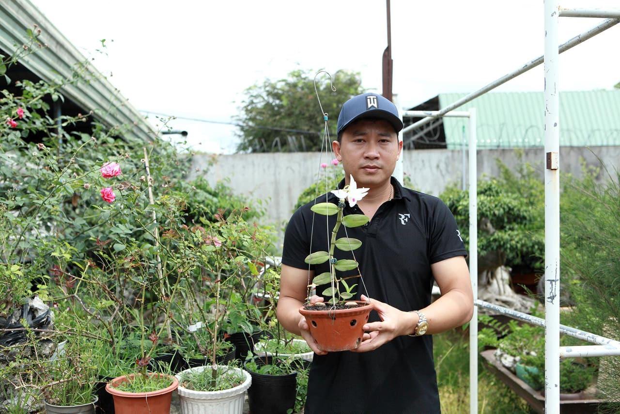 Ông chủ vườn lan Bang Upes - Phạm Thăng Bằng.