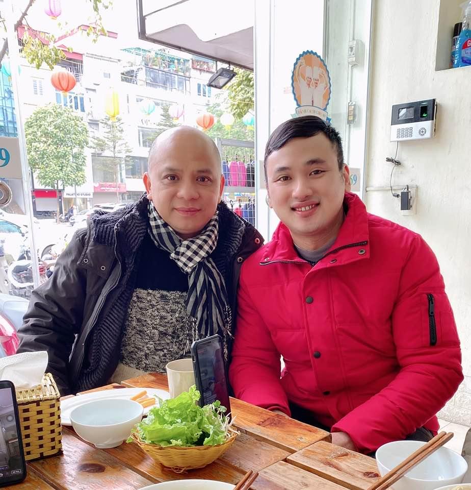 Phạm Cường có mối quan hệ thân thiết với nhiều nghệ sĩ, trong đó có diễn viên...