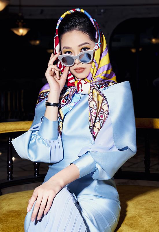 Phương Nga diện trang phục nữ quyền của NTK Xuân Lê - 14