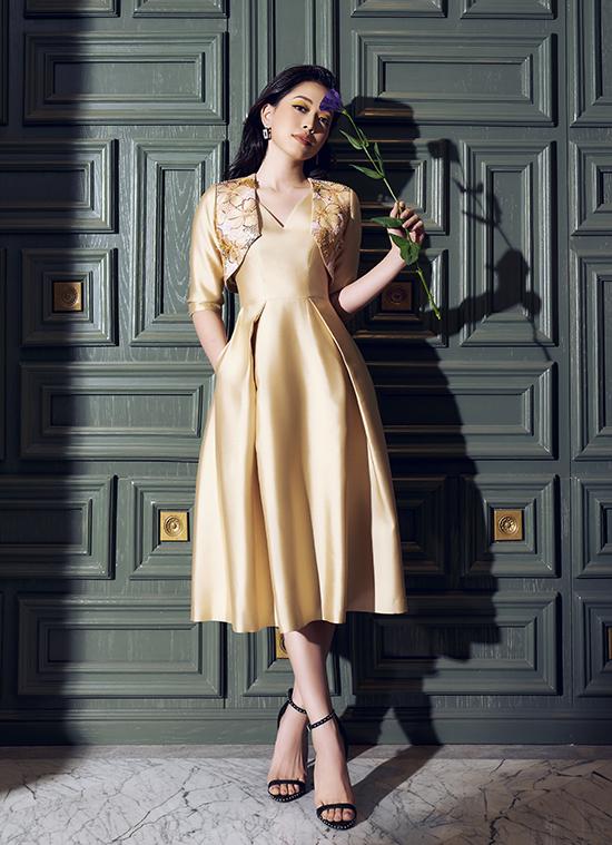 Phương Nga diện trang phục nữ quyền của NTK Xuân Lê - 10