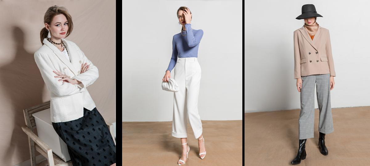 Thời trang công sở: Trong bộ sưu tập lần này, các thiết kế dành cho các chị em công sở có tông màu sáng, mang đến cho người mặc vẻ ngoài nữ tính, thanh lịch. Tất cả các sản phẩm tại J-P Fashion đều có đường may tinh xảo, kiểu dáng đơn giản, nhẹ nhàng. Bộ sưu tập lần này đã có mặt trên toàn bộ hệ thống cửa hàng. Độc giả xem thêm các thiết kế mới tại website: https://j-p.vn/thoi-trang-nu.html