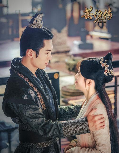 Hai diễn viên từng kết đôi trong Vân Tịch Truyện.