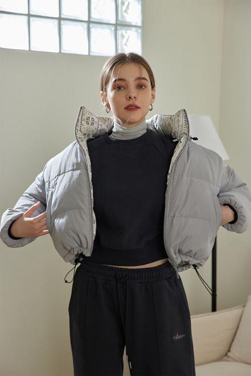 Áo phao, áo nỉ cho nàng năng động - 16