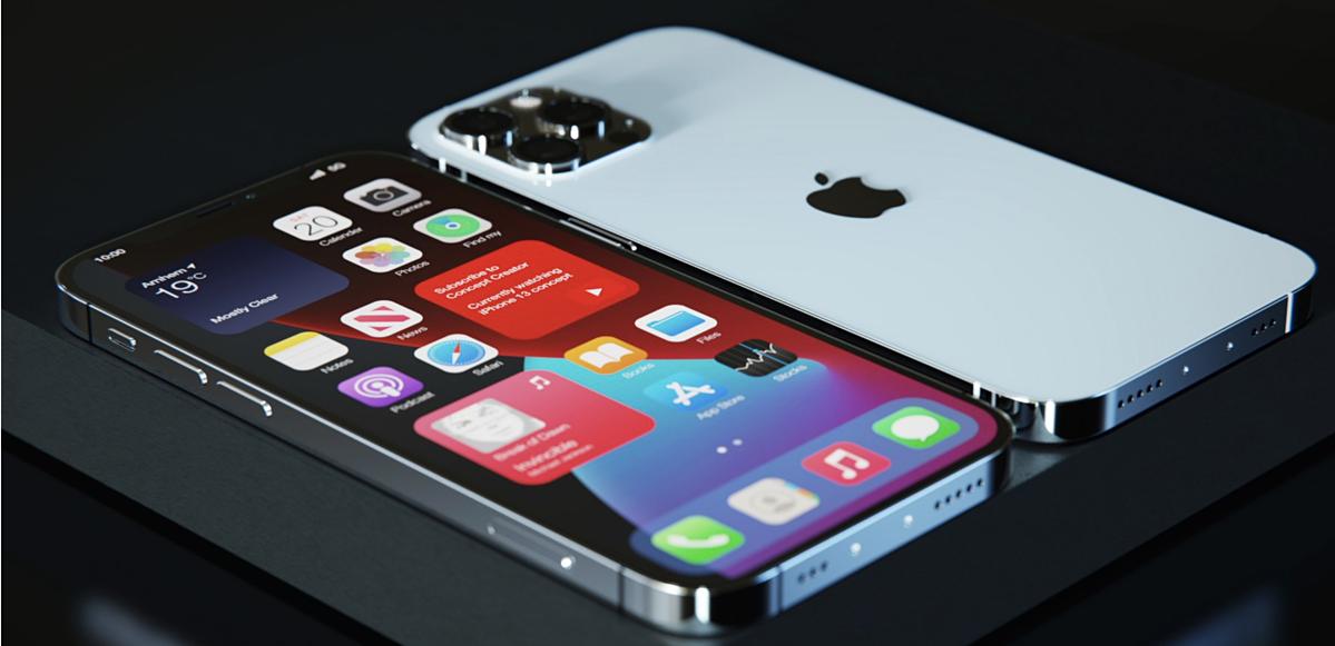 Ảnh dựng iPhone 12S. Nguồn: LetsGoDigital và Concept Creator