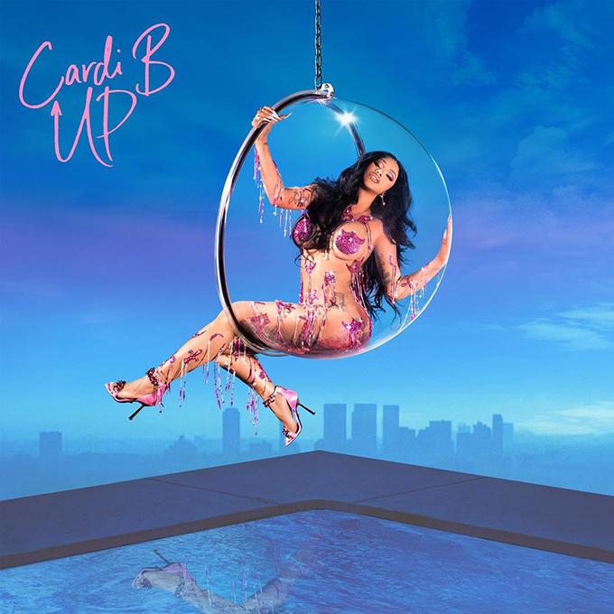 Ảnh bìa MV Up được Cardi B đăng tải hôm 2/2.