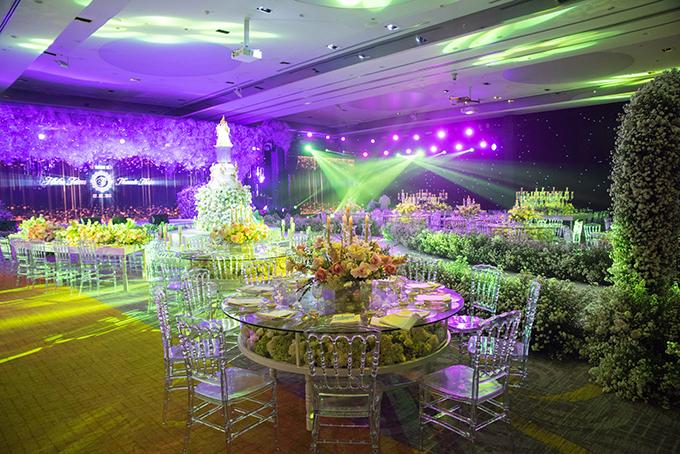 Không gian siêu đám cưới của đạo diễn Nguyễn Hiếu Tâm