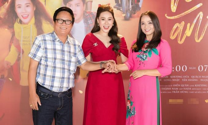 Hồ Bích Trâm ghép cặp nghệ sĩ Hoài An và nghệ sĩ Tấn Hoàng.