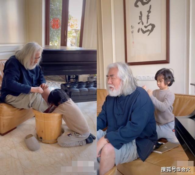 Vài ngày trước đó, ông Trương Kỷ Trung gây chú ý khi đăng ảnh con trai riêng của vợ rửa chân, đấm lưng cho mình. Ông nói cảm kích vì vợ đã dạy cậu bé Martin cách sống hiếu đạo, biết lo lắng, yêu thương bậc sinh thành. Gọi điều này là hạnh phúc giản đơn, ông Trương Kỷ Trung bình luận rằng vợ con rất tâm lý khi chăm sóc ông, điều này giúp ông giảm bao mệt mỏi sau một ngày làm việc bận rộn.  Ông Trương Kỷ Trung sinh năm 1951, là nhà làm phim nổi tiếng Trung Quốc. Ông được mệnh danh là trùm sản xuất phim Kim Dung vì từng chi tiền thực hiện nhiều tác phẩm chuyển thể tiểu thuyết kiếm hiệp, trong đó có Tiếu ngạo giang hồ (2001), Anh hùng xạ điêu (2003), Thiên long bát bộ (2003), Thần điêu đại hiệp (2006), Ỷ Thiên Đồ Long Ký (2009), Hiệp khách hành (2014)... Ngoài ra, Trương Kỷ Trung còn là người được đánh giá cao sau Dương Khiết khi làm lại phim Tây du ký. Ông kết hôn với người vợ kém mình 39 tuổi sau khi ly dị vợ đầu.