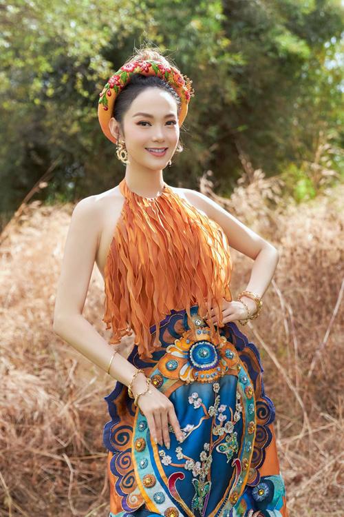 Phong cách Á Đông của sao Việt - 14