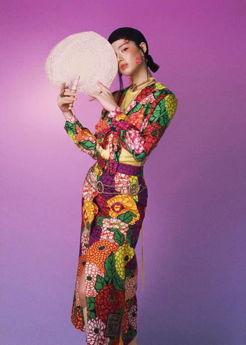 Phong cách Á Đông của sao Việt - 4